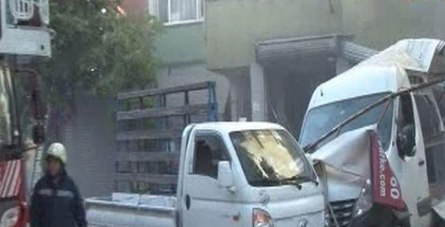 Gaziosmanpaşa'da sanayi tüpü patladı: 10 yaralı