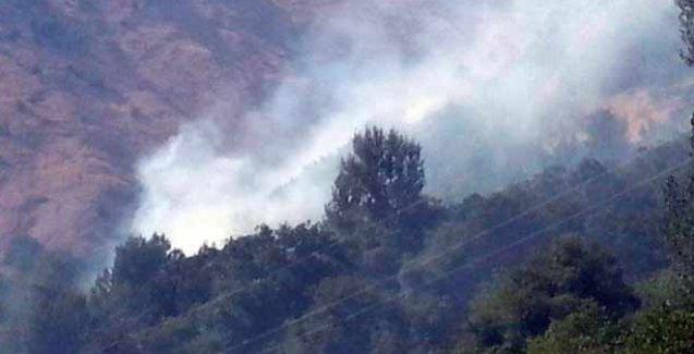 Hakkari'de canlı kalkan eylemi yapılan bölge bombalandı