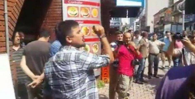 Hopa'da Bakan ve Vali'ye protesto