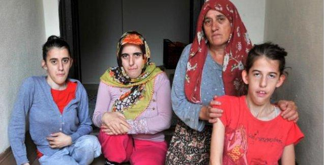 Hopa'da sel engelli 3 kardeşin tekerlekli sandalyelerini de aldı