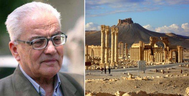 IŞİD Palmyra antik kentinden sorumlu 82 yaşındaki arkeoloğu katletti