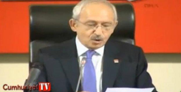 Kılıçdaroğlu bir polisin mektubunu okudu: '30 yıldır çözülemeyen bir soruna ölerek hizmet edemeyiz'