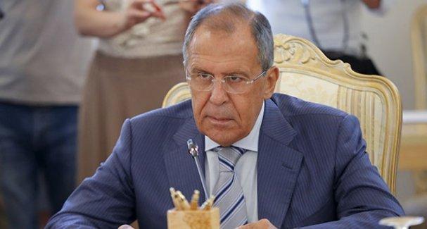 Lavrov: Suriye'nin geleceğine Suriye halkı karar verir