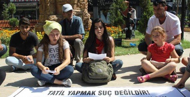 Mersin Halk Cephesi tutuklamaları protesto etti