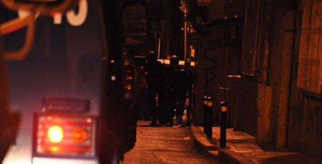 Okmeydanı'nda polis baskını