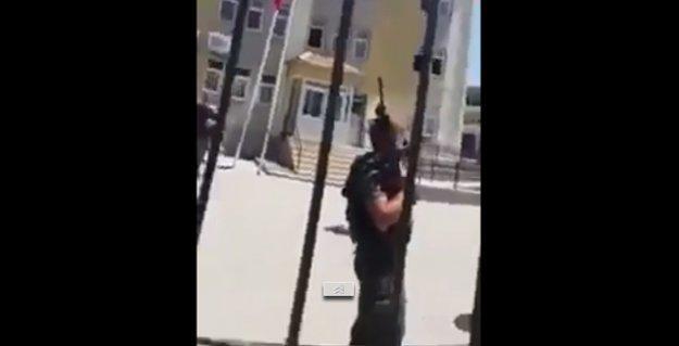 Özel harekatçılar Silvan'da 'tekbir' getirip, rastgele etrafa ateş açtı