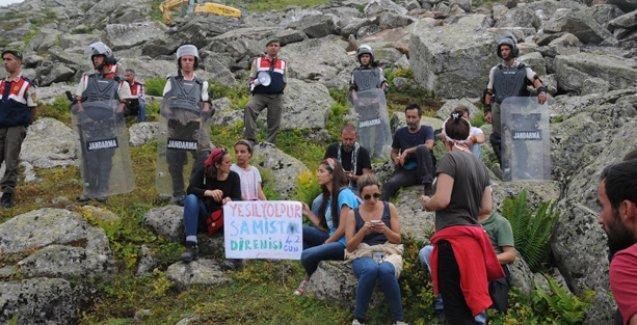 Samistal-Kavrun Yaylası'nda 'Yeşil Yol' çalışmaları yeniden başladı