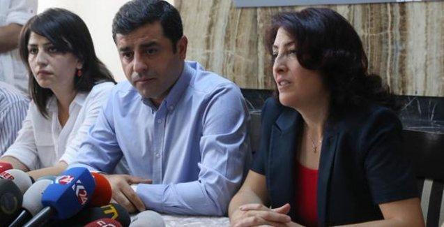 Selahattin Demirtaş'tan ESP'ye ziyaret