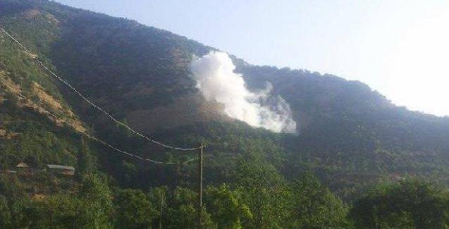 Şemdinli'de jandarma karakoluna roketli saldırı