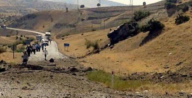 Siirt'te askeri araca saldırı: 8 asker hayatını kaybetti