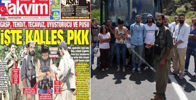 Takvim'in 'canlı bomba' manşeti de 'fotoşop' çıktı
