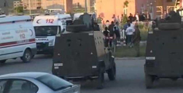 Yüksekova Emniyet Müdürlüğü'ne roketli saldırı