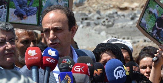 Zergele'de incelemelerde bulunan HDP: Burada sivil katliam yapıldı