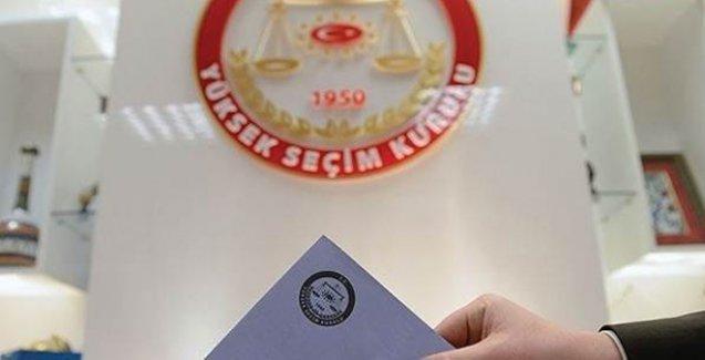 1 Kasım seçimlerinde oy kullanacak seçmen sayısı belli oldu