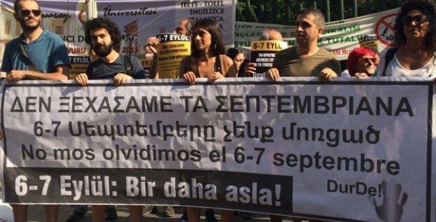 6-7 Eylül Pogromu'nun yıldönümünde 'Bir daha asla' etkinlikleri düzenleniyor