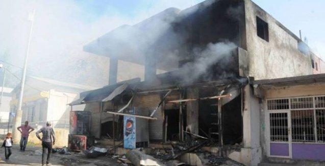 Beytüşşebap'ta çatışma sonrası askerler ilçeyi havan toplarıyla vurdu: 4 ölü, 4 yaralı