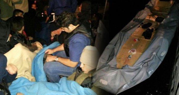 Çeşme'de mülteci botu battı, 4 yaşındaki çocuk öldü