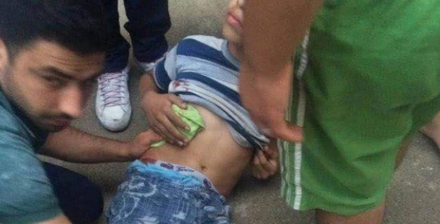 Cizre'de ekmek almaya giden 3 çocuk zırhlı araçtan açılan ateşle yaralandı