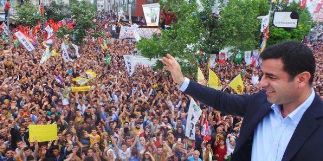 Demirtaş: Kürt halkını yenecek silah daha icat olmamıştır