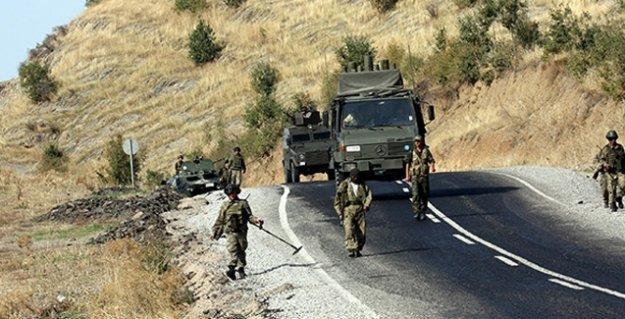 Dersim'de 1 Astsubay'ın PKK'liler tarafından alıkonulduğu iddiası