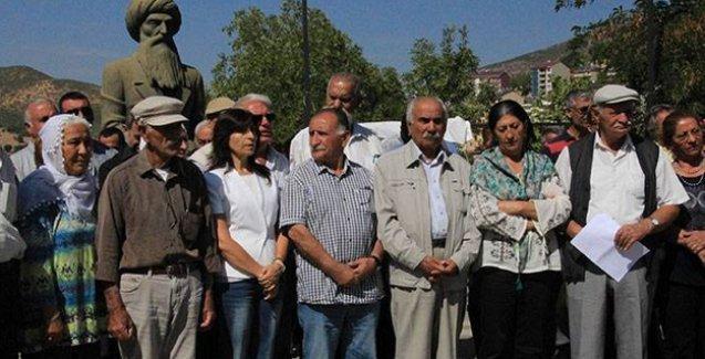 Dersim'deki inanç önderleri 4 günlük açlık grevi eylemine son verdi