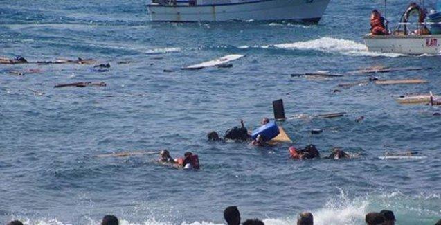 Didim açıklarında göçmenleri taşıyan tekne battı: 1'i çocuk 28 kişi öldü