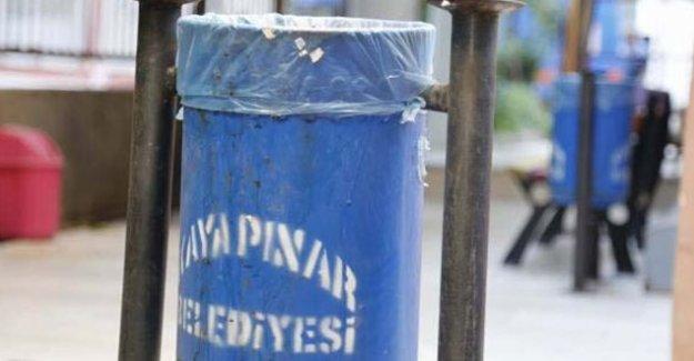 Diyarbakır'da çöp kutuları 'güvenlik' gerekçesiyle yasaklandı