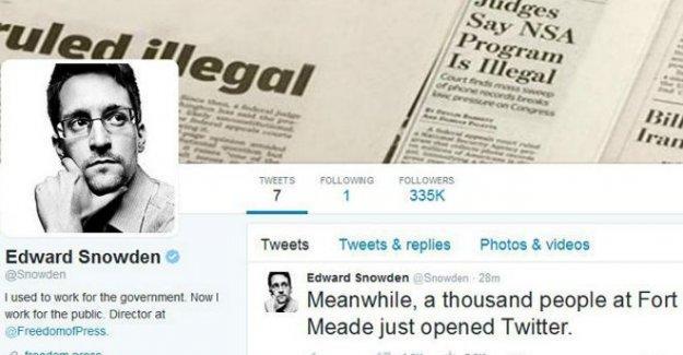 Edward Snowden Twitter hesabı açtı: İlk takip ettiği ettiği hesap sırlarını açıkladığı NSA