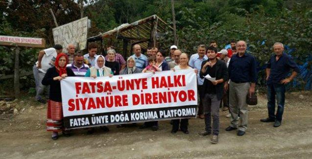 Fatsa ve Ünye'de siyanürlü madene karşı mücadele sürecek