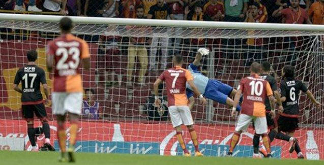Galatasaray, Arena'daki ilk galibiyetini aldı