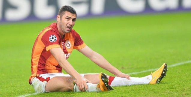 Galatasaray'da forvet krizi: Burak Yılmaz da sakatlandı