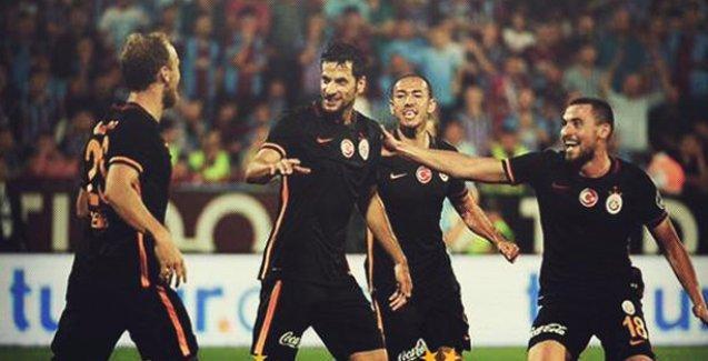 Galatasaray, Trabzon'da 3 puanı buldu
