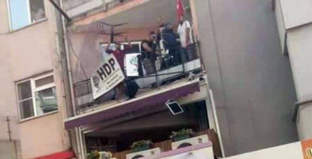 HDP Balıkesir il örgütüne saldırı