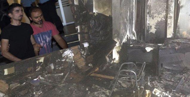 HDP Genel Merkezi'ne saldırıya bir tutuklama