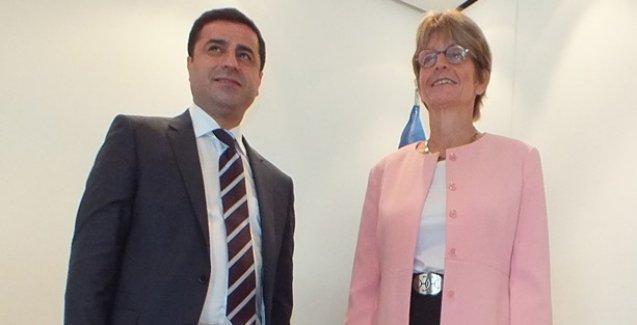 HDP heyeti Avrupa Konseyi'nde önemli görüşmeler yaptı