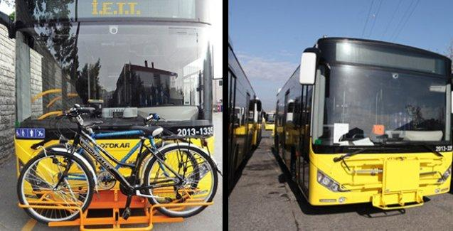 İETT otobüsleri bisikletli yolculara ücretsiz