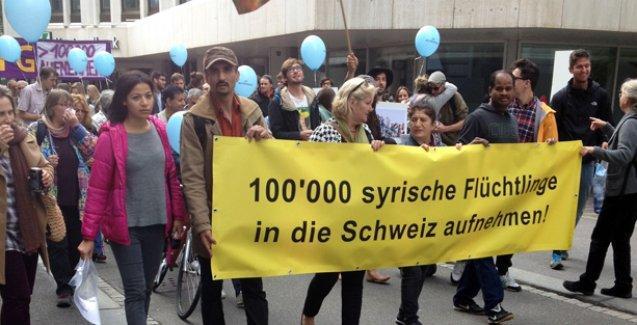 'İsviçre 100.000 göçmen almalı'