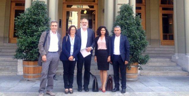 İsviçre'deki 14 Türkiyeli parlamenterden barış girişimi