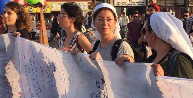 Kadınlardan barış nöbeti ve ateşkes çağrısı