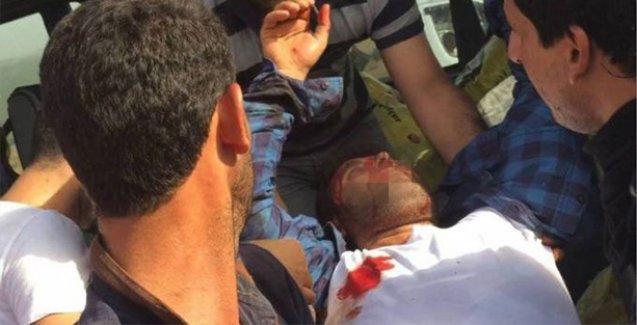 Lice'de canlı kalkan eylemcilerine asker ateş açtı: 7 yaralı
