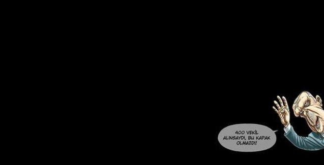 Penguen'den Erdoğan'lı siyah kapak