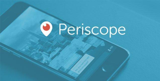 Periscope kendini geliştirdikçe yaygınlaşıyor