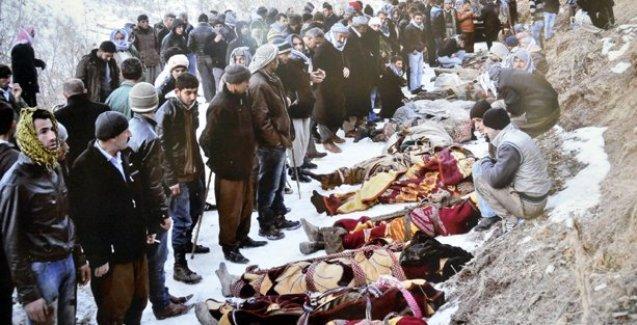 Roboski katliamında Genelkurmay MİT'i suçladı