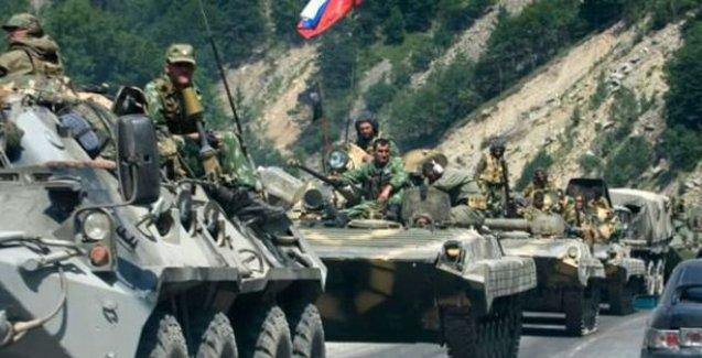 'Rusya ordusu Suriye'de muhaliflerle çatışmalara girdi'