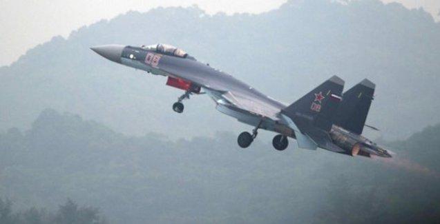 Rusya Suriye'de ilk hava operasyonunu gerçekleştirdi