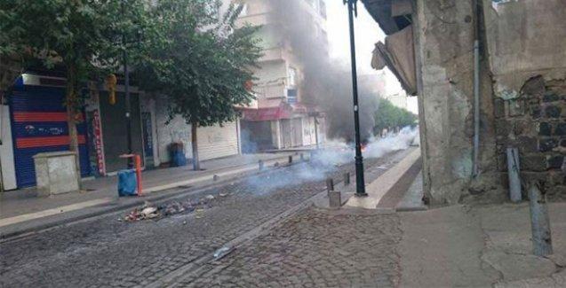 Sur'da sokağa çıkma yasağı sonrasında çatışmalar başladı
