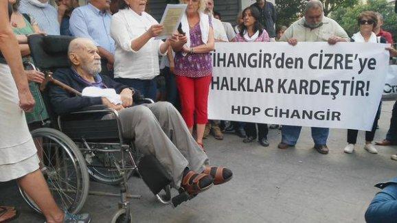 Vedat Türkali: Halklar özgür olmadıkça barış gelmez