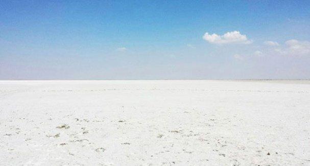 Yüzlerce yaban kuşuna yataklık eden Seyfe Gölü tamamen kurudu!