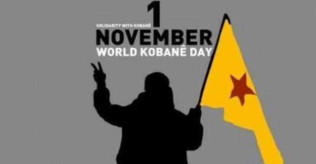 1 Kasım 'Dünya Kobani Günü'nde 5 kıtada sokağa çıkılacak