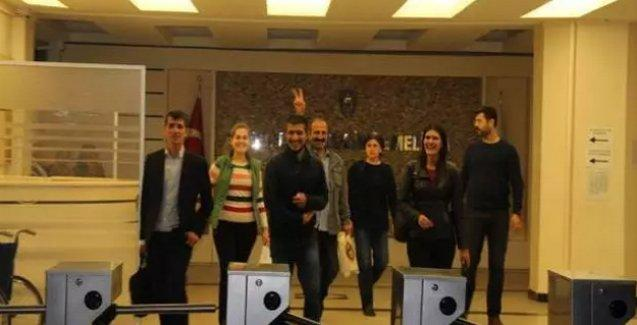 Ankara'da gözaltına alınan HDP'liler serbest bırakıldı